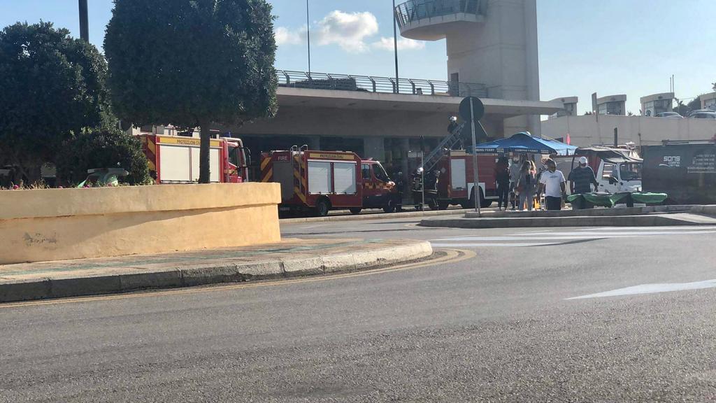 fire engines Imġarr Għawdex terminal