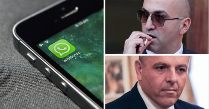 WhatsApp Yorgen Fenech Keith Schembri