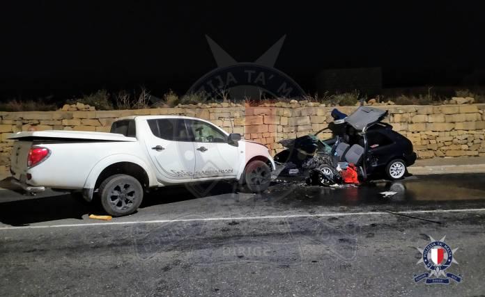 inċident tat-traffiku fatali Mġarr