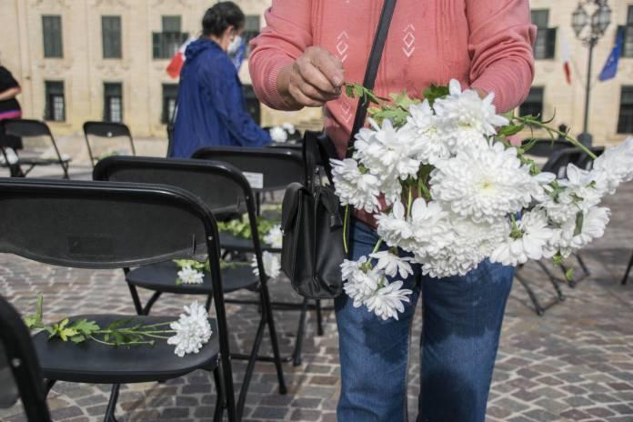 Repubblika commemorates COVID-19 victims
