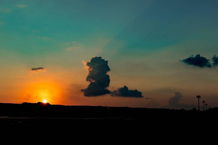 sunset weather