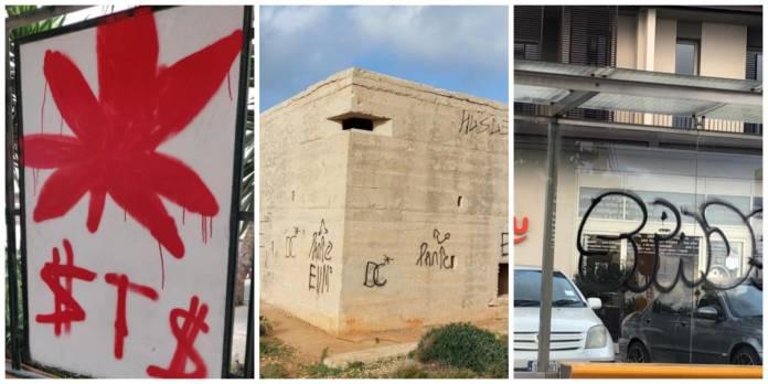 mellieha vandalism