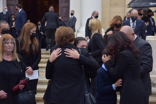 familja Friggieri funeral Oliver Friggieri