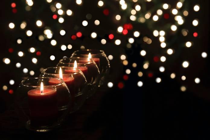 candles dark