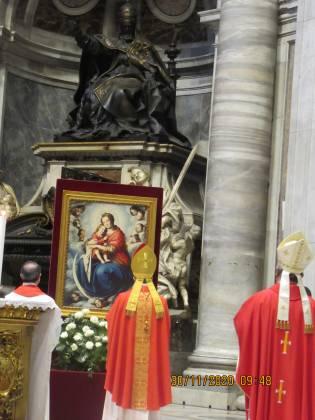 Cardinal Mario Grech mass at St Peter's Basilica