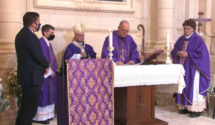 Chapel of St Anthony of Padua, Fort Manoel fr gordon refalo archbishop charles Scicluna