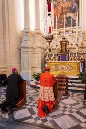 quddiesa radd il-ħajr Kardinal Mario Grech