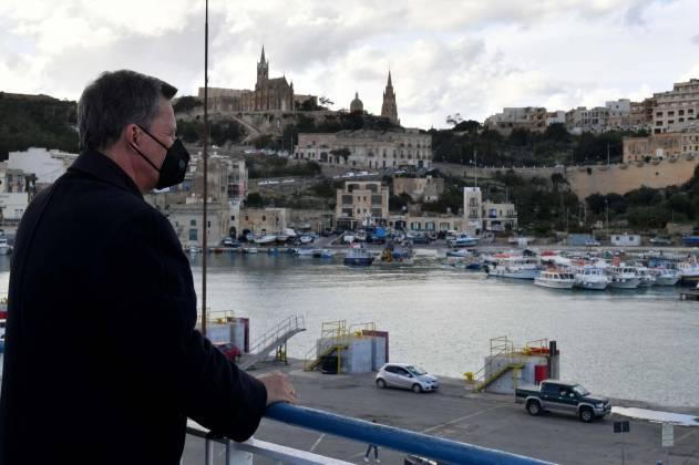 Kardinal Mario Grech Gozo Channel