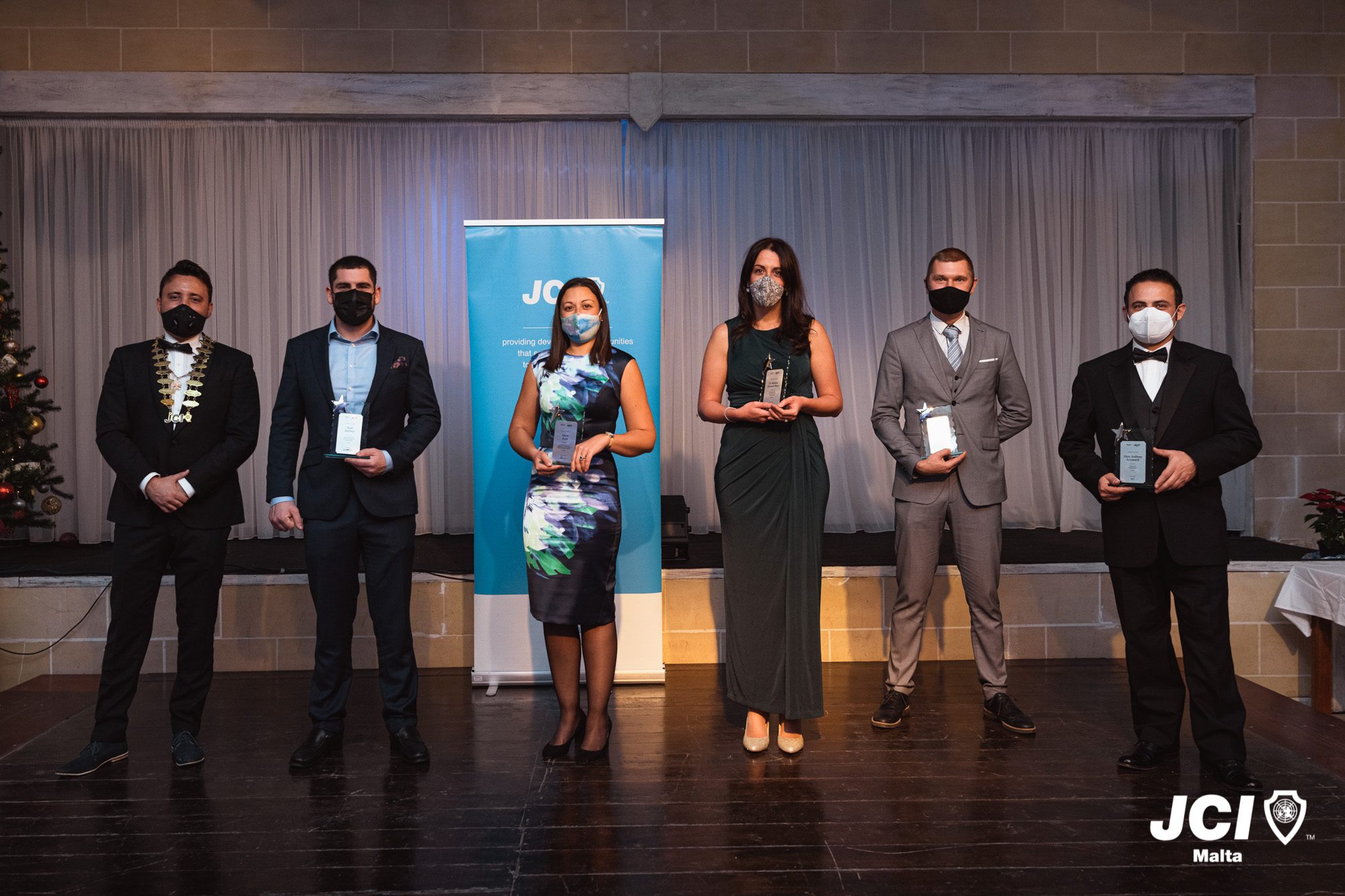 JCI Malta awards the Ten Most Outstanding Young People for 2020 - Newsbook