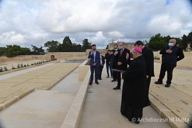 Addolorata cemetery extension