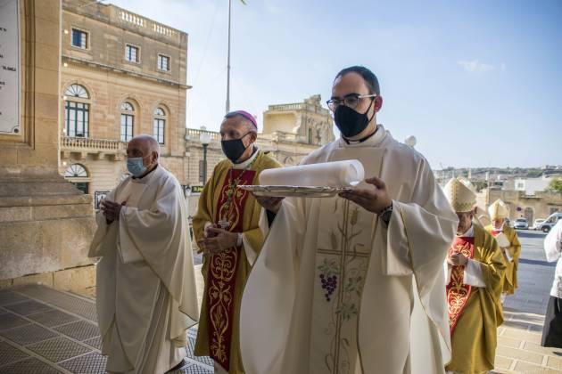 Konsagrazzjoni Episkopali Isqof Anton Teuma Arcisqof Charles J Scicluna