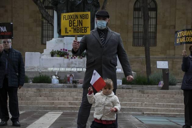 protest-valletta