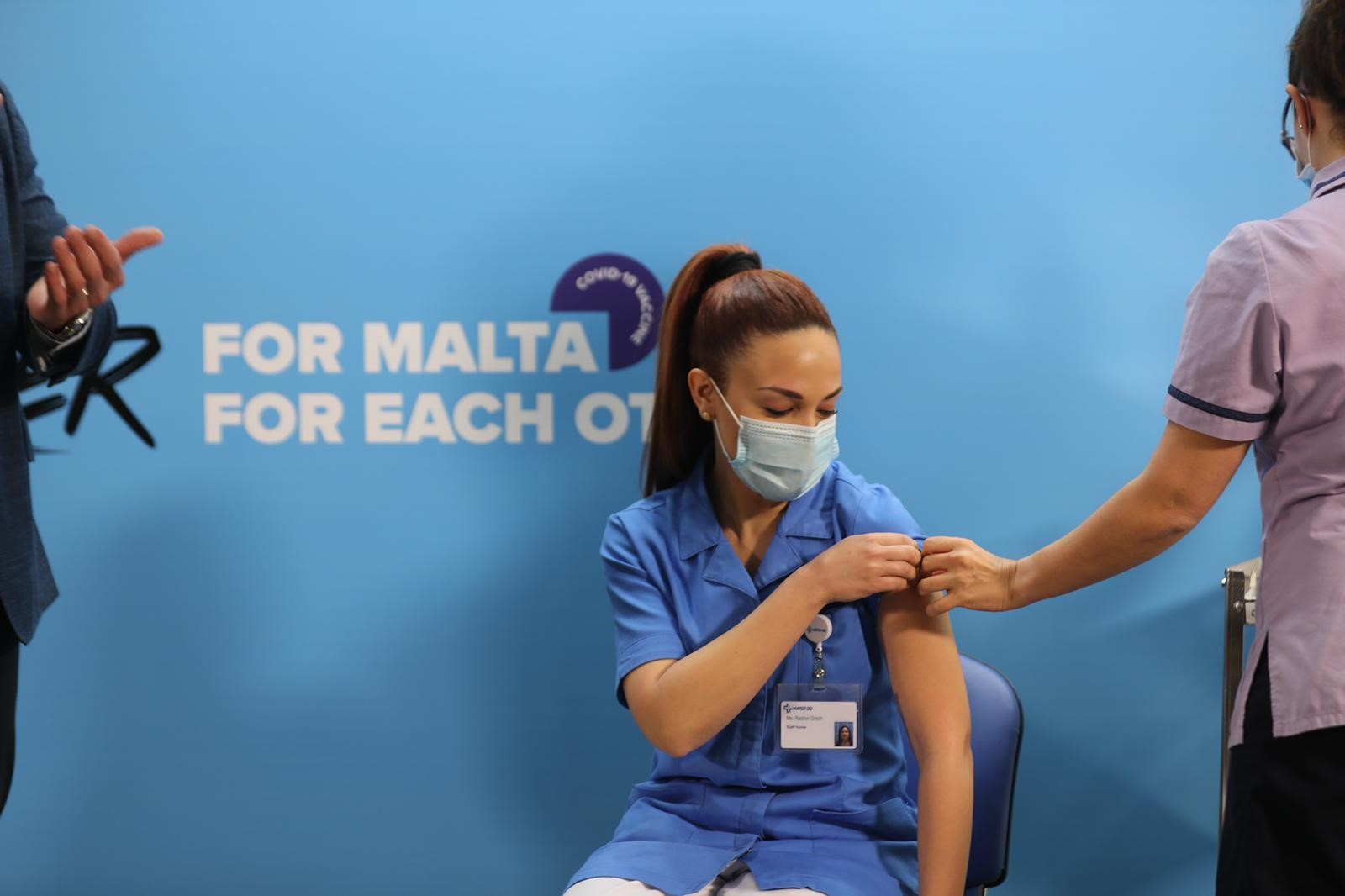 Eurobarometer shows only 4% would refuse Covid vaccine in Malta - Newsbook