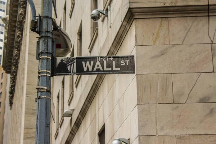 Wall Street, New York City, New York, USA