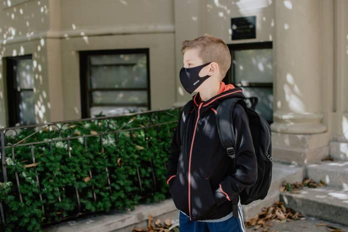 child school mask