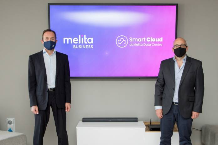 Harald Roesch, Chief Executive Officer at Melita Limited and Joe Aquilina, Chief Executive Officer at Smart Technologies   Melita
