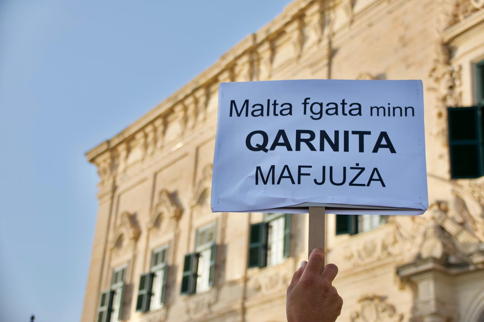 OCCRP founder says Malta is a 'mafia state'